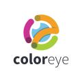 眼睛的顏色Logo