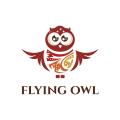 貓頭鷹飛Logo