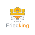 Fried King  logo
