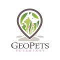 GeoPets Veterinary  logo