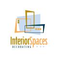 Interior Spaces Decorating  logo