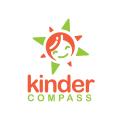 Kinder Compass  logo