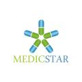 Medic Star  logo