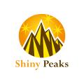 閃亮的峰Logo