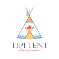 Tipi Tent  logo