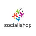online shopping store logo