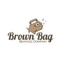 棕色Logo