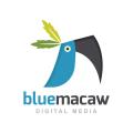 藍金剛鸚鵡Logo