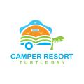 野營度假Logo