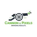Cannon & Pixels  logo