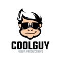 很酷的傢伙Logo