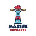 蛋糕塔Logo