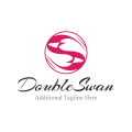 Double Swan  logo