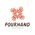 Four Hand  logo