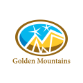 黃金山Logo