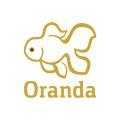 Goldfish oranda  logo