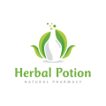 Herbal Potion  logo