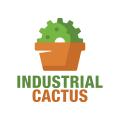 工業用仙人掌Logo