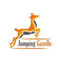 跳躍的羚羊Logo