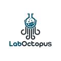 實驗室的章魚Logo