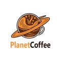 Planetcoffee  logo