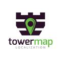 塔地圖Logo