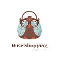 明智的購物Logo