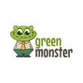 green monster  logo