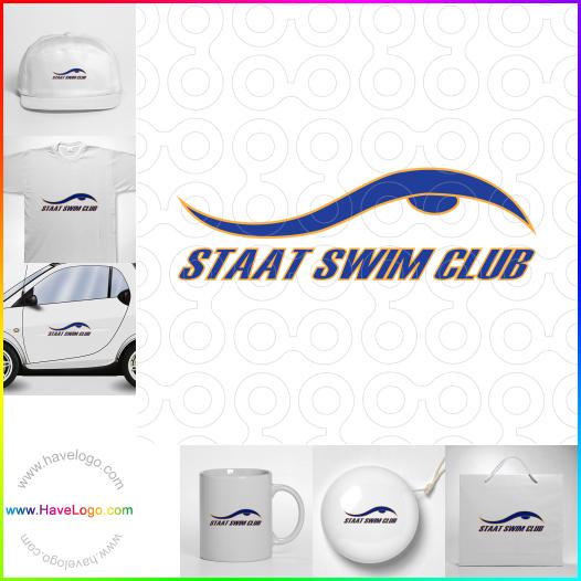 游泳logo設計 - ID:65560