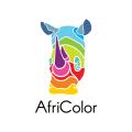 AfriColor  logo
