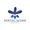 牙科橡子Logo
