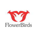 Flower Birds  logo