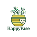 Happy Vase  logo