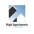 高高的公寓Logo