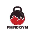 Rhino Gym  logo