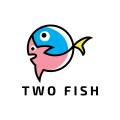 兩魚Logo