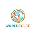 世界的顏色Logo