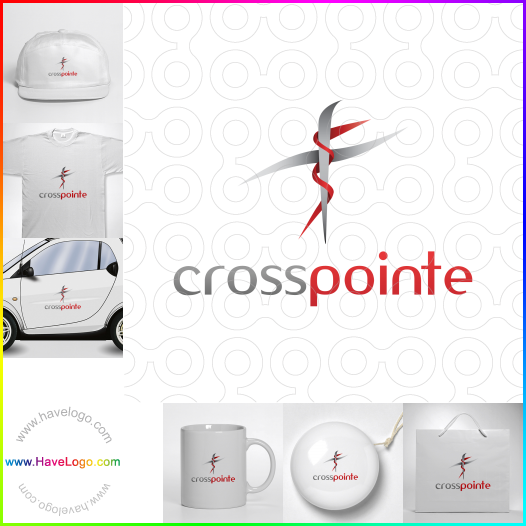 cross logo - ID:17798