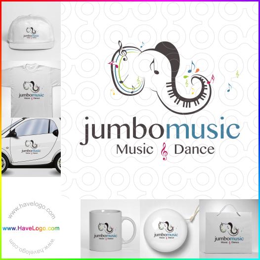 dance instructor logo - ID:35327