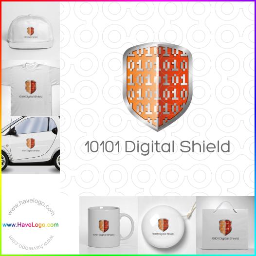 digital logo - ID:35417